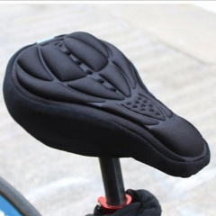 Bicycle Cushion Cover Riding Equipment Accessories Black