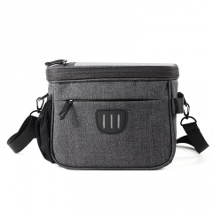 Bicycle Front Bag Riding Bag Riding Equipment Accessories Gray