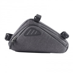 Mountain Bike Triangle Tool Bag Beam Bag Gray