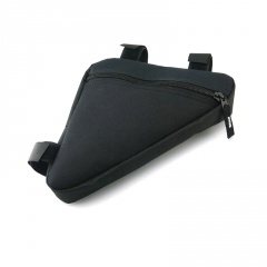 Bicycle Saddle Bag Triangle Kit Bags Black