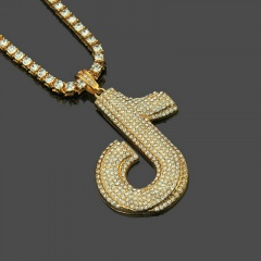 Gold Silver Stainless Steel Musical Pendant Necklace Wholesale Gold