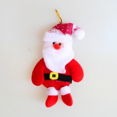 Santa Claus Plush Doll Pendant Christmas Ornament Santa Claus