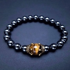 Natural Stone Bracelet Stretch Beads Bangle Fashion Jewellery Style 4