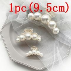 Korean Fashion Pearl Hairclip Wholesale five-9.5cm
