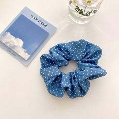 Simple Polka Dot Large Intestine Hair Tie Wholesale style 2