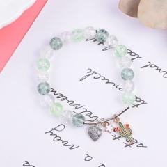 Fashion Crystal Beads Fishtail Elastic Bracelets Wholesale style 2