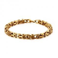 Men's Chain Stainless Steel Bracelets Wholesale gold