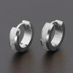 Stainless Steel Hoop Earring Jewelry silver