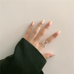 Candy colored open ring #1
