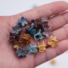 40pcs/set Color flower resin children's hair accessories (size 1cm) 40pcs/set