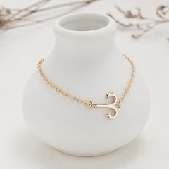 Symbol Edition Twelve Constellation Paper Card Chain Bracelet (Chain length: 18+3cm, paper jam: 9*7.5cm) Aries